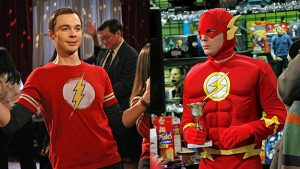 Sheldon Cooper y Flash